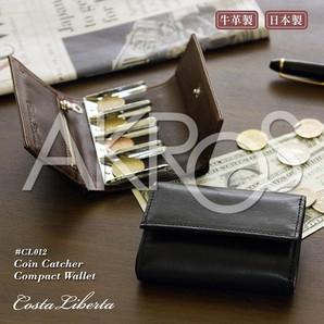 Costa Liberta(コスタリベルタ) CL012 コインキャッチャー付きコンパクト財布