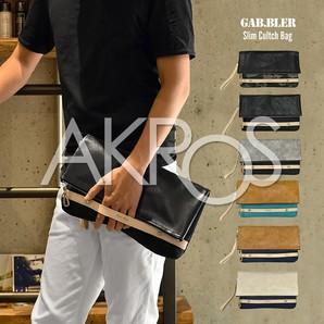 Gab・Bler(ギャブラー) GB023 口折れクラッチバッグ