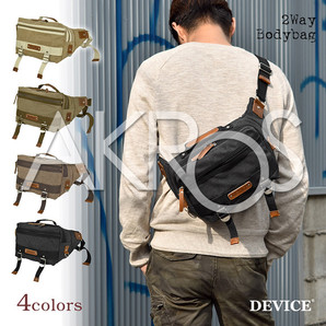 Casual Selection DEVICE ボディバッグ dwh50038