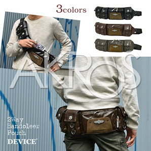 Casual Selection DEVICE ボディバッグ dwh50079